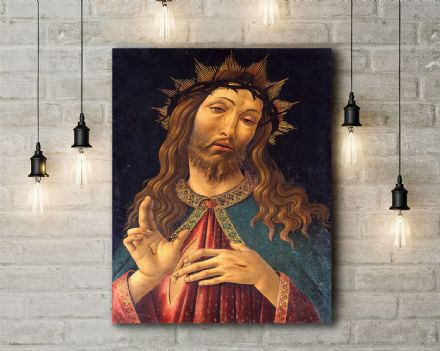 Sandro Botticelli: Christ Crowned with Thorns.  ReligiousFine Art Canvas.